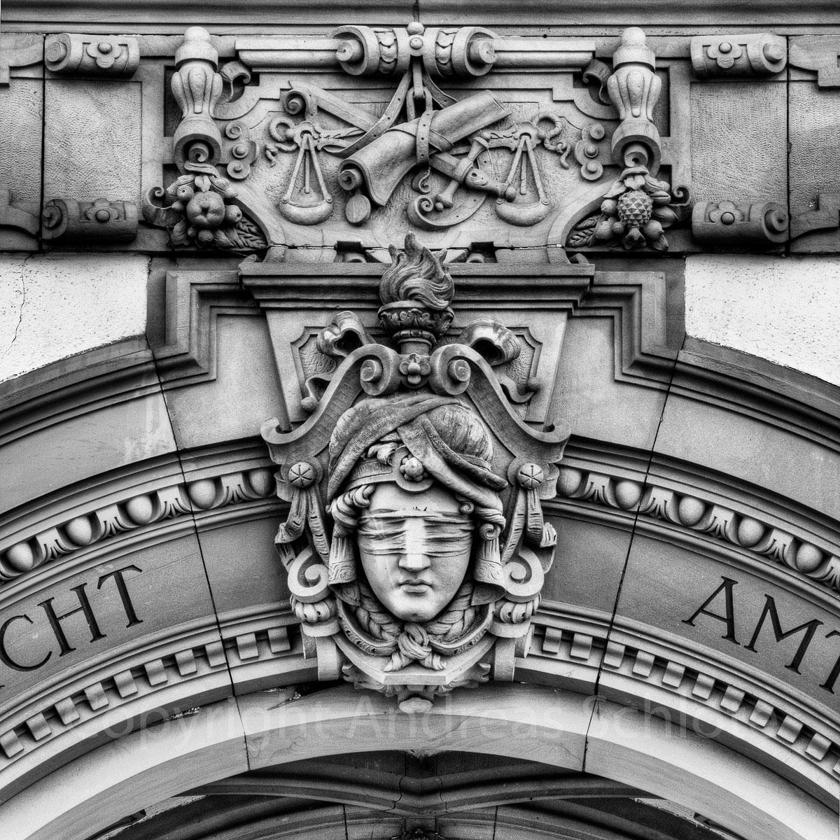 Altes Landgerichtsgebäude Eingang