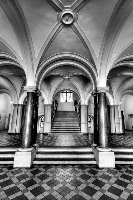 Rathaus Wiesbaden - Foyer