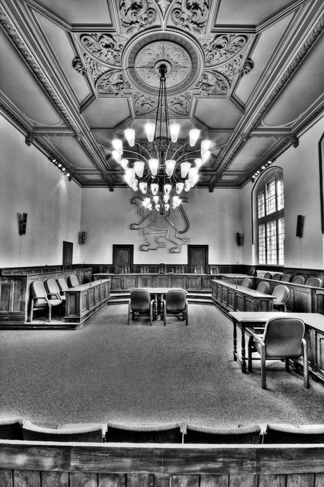 Altes Landgericht Wiesbaden - Schwurgerichtssaal