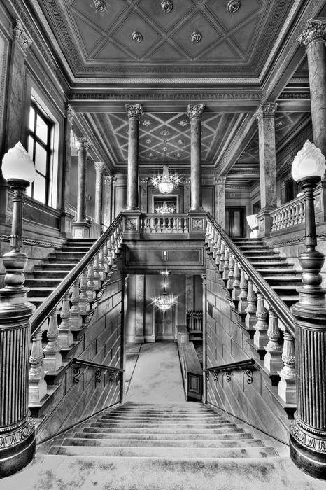 Wiesbadener Casino-Gesellschaft - Treppenaufgang