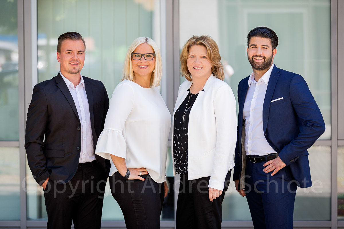 business gruppenfoto