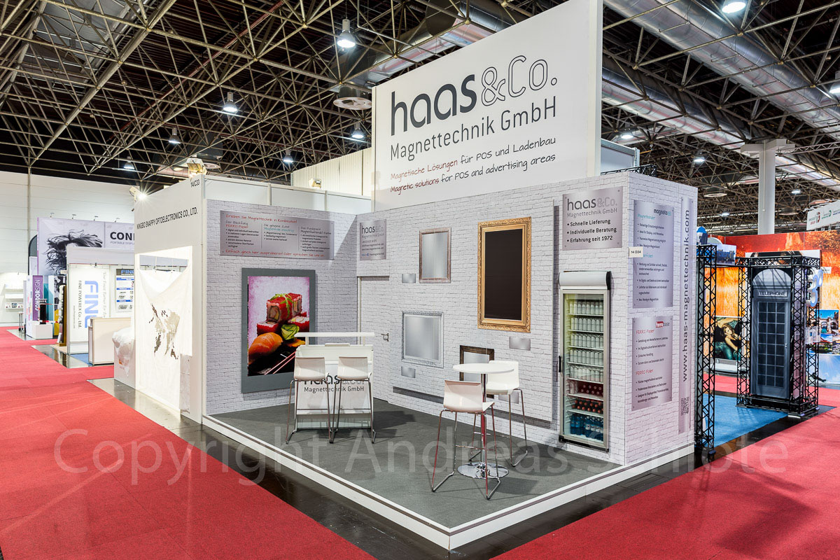 messestand haas + co