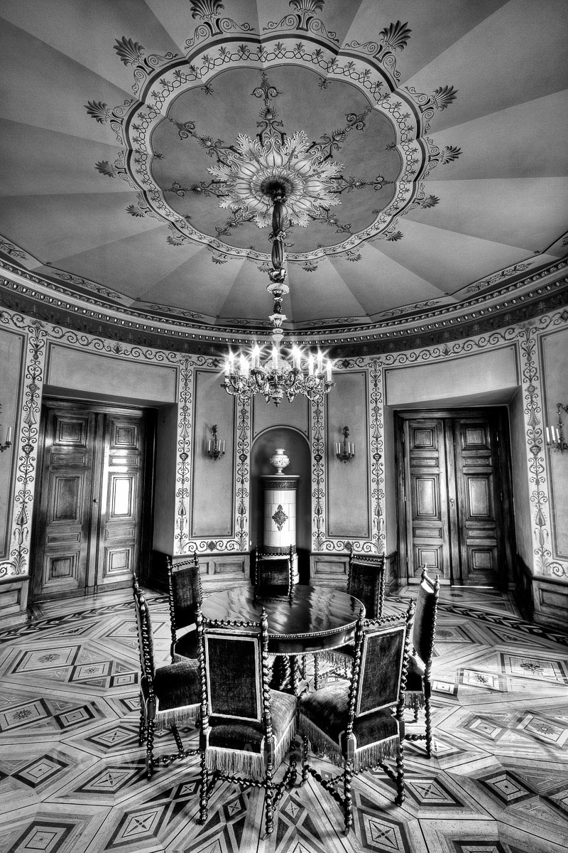 Rotunde Stadtschloss Wiesbaden HDR Aufnahme